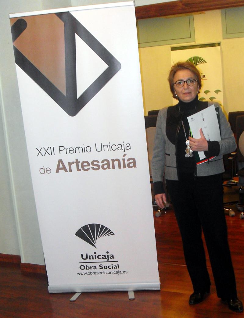 Carmen Espín, Presidenta de la Fundación Unicaja Jaén.
